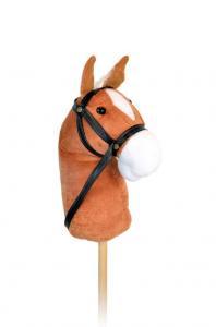 Käpphäst med ljud - Brun