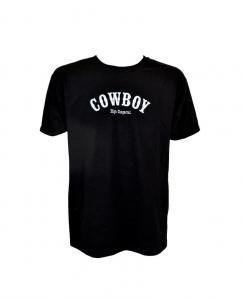 Cowboy - T-shirt - Svart / S-XL