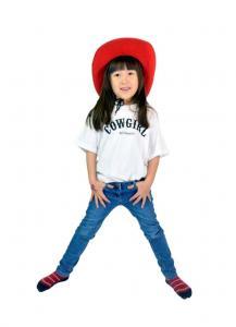 Cowgirl - T-shirt - Vit / strl 80