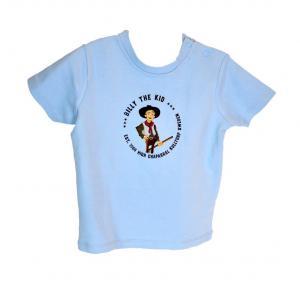 Billy The Kid - Ljusblå T-shirt Baby / 3-6 mån