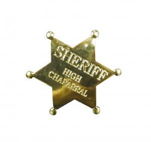 Sheriffstjärna - Guld