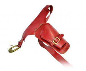 Hölster med bälte - Röd