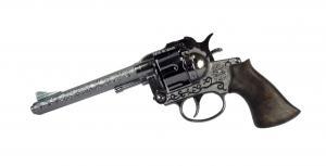 Knallpulverpistol - Revolver 43 / Silver