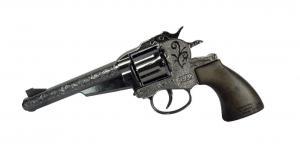 Knallpulverpistol - Revolver 47 / Silver